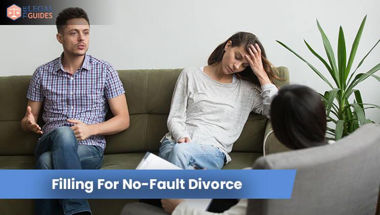 Filling For No-Fault Divorce