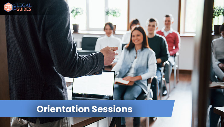 orientation sessions