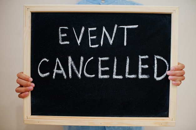 Cancellation Of The Community Events