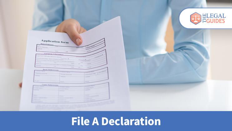 File A Declaration