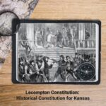 Lecompton Constitution: Historical Constitution For Kansas